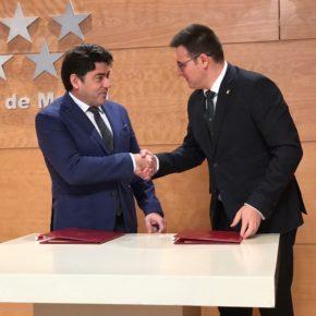 """Arranz (Cs): """"con la firma de este convenio destinaremos 4 millones de euros a la rehabilitación del Distrito Centro"""""""