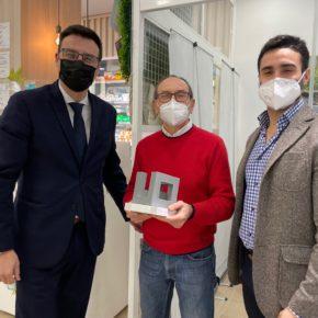 """Arranz (Cs): """"Agradecemos a las farmacias de Alcobendas su disposición para hacer test de antígenos"""""""