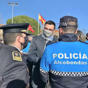 """Arranz (Cs): """"Alcobendas es hoy una ciudad mucho más segura que hace un año"""""""